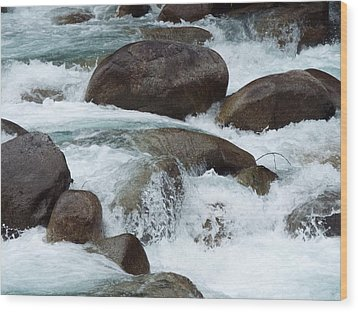 Water Spirits I Wood Print