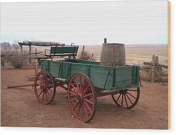 Wood Print featuring the photograph Water Wagon by Fred Wilson