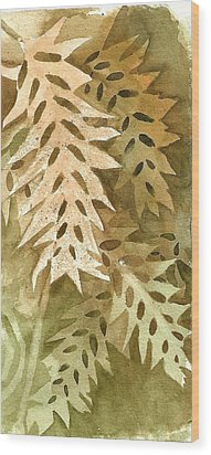 Watercolor Practice Wood Print