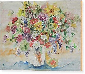 Watercolor Series 33 Wood Print