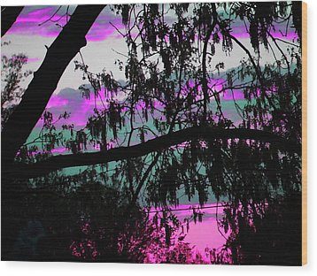 Wood Print featuring the photograph Waterloo Sunset by Susan Carella