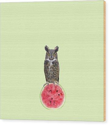 Watermelon Wood Print