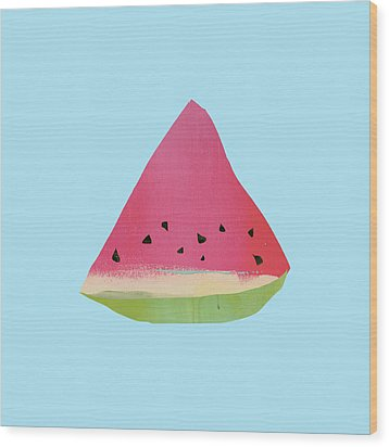 Watermelon Wood Print by Jacquie Gouveia
