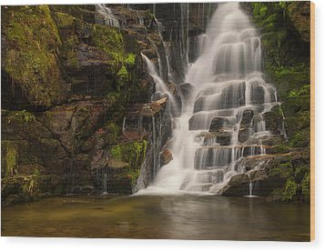 Water's Staircase Wood Print