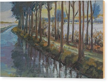 Waterway Wood Print