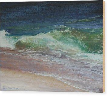 Wauwinet Wave IIi Wood Print by Jeanne Rosier Smith