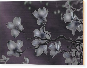 Wood Print featuring the painting Wave Japanese Art by Gray  Artus