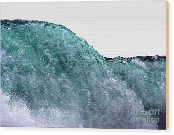 Wood Print featuring the photograph Wave Rider by Dana DiPasquale