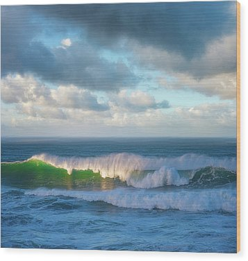 Wood Print featuring the photograph Wave Length by Darren White