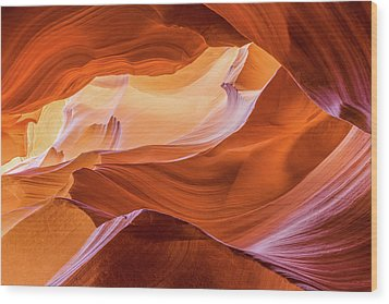 Wood Print featuring the photograph Waves Of Stone by Carl Amoth
