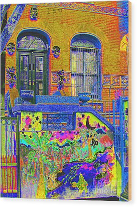 Wax Museum Harlem Ny Wood Print by Steven Huszar