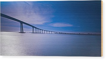 Way Over The Bay II Wood Print by Ryan Weddle
