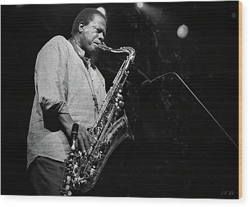 Wayne Shorter Discography Wood Print