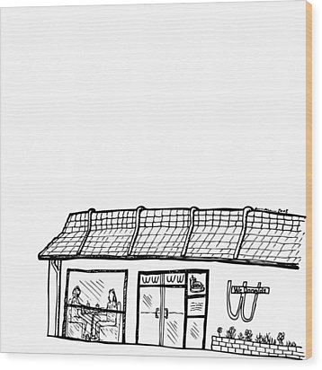 Wcdonalds Wood Print by Karl Addison