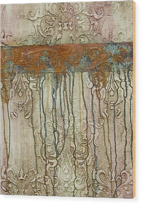 Weathered Wood Print by Chris Brandley