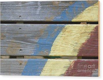 Weathered Wood Print by Jeannie Burleson