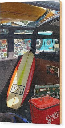 Wedge Special Wood Print by Ron Regalado