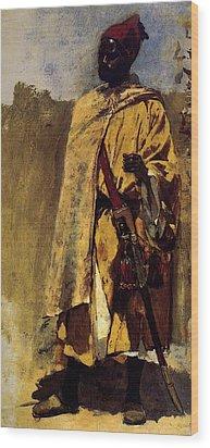 Weeks Edwin Moorish Guard Wood Print