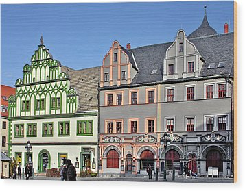 Weimar Germany - A Town Of Timeless Appeal Wood Print by Christine Till