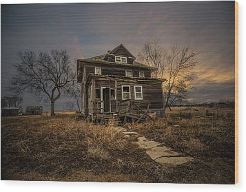 Wood Print featuring the photograph Welcome Home by Aaron J Groen