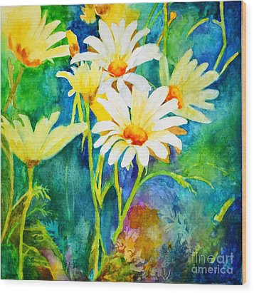 Welcome Spring #2 Wood Print by Betty M M   Wong
