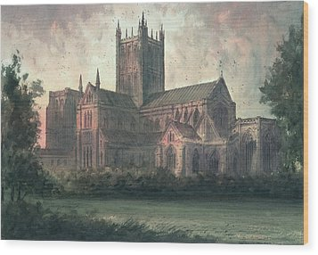 Wells Cathedral Wood Print by Paul Braddon