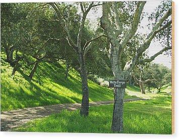 Wells Fargo Trail Wood Print