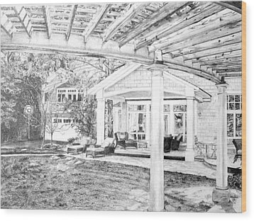 Wendy's House Wood Print