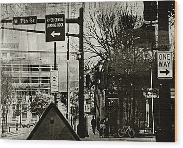 Wood Print featuring the photograph West 7th Street by Susan Stone