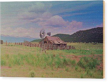 Westcliff Colorado Wood Print