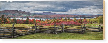 Westmore Overlook Wood Print by Tim Kirchoff