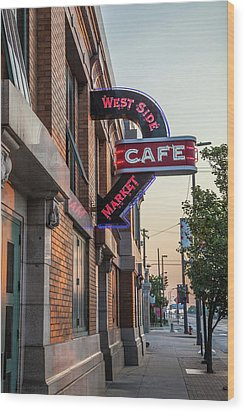 Westsidemarketcafe Wood Print