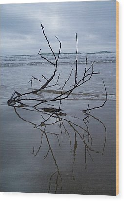 Wood Print featuring the photograph Wet Feet by Mira Cooke