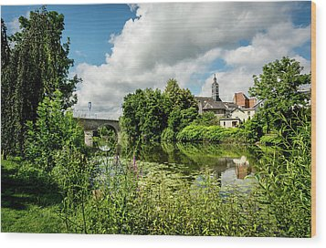 Wood Print featuring the photograph Wetzlar Germany by David Morefield