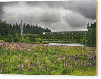 Wood Print featuring the photograph Weyerhaeuser Headquarters by Dan McManus