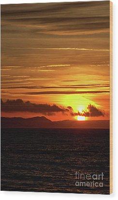 Weymouth Sunrise Wood Print by Stephen Melia