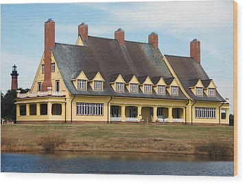 Whalehead Club Wood Print