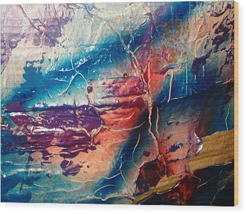 What Have We Done To The Sea Wood Print by Bruce Combs - REACH BEYOND