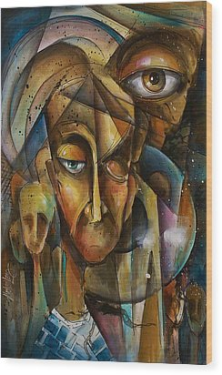 What Wood Print by Michael Lang