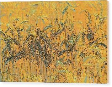 Wheatscape 6343 Wood Print