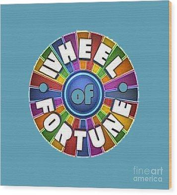 Wheel Of Fortune T-shirt Wood Print
