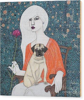 When I Call Wood Print by Natalie Briney