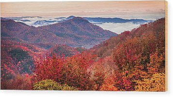 Wood Print featuring the photograph When Mountains Sing by Karen Wiles