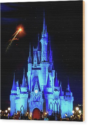 When You Wish Upon A Star Wood Print