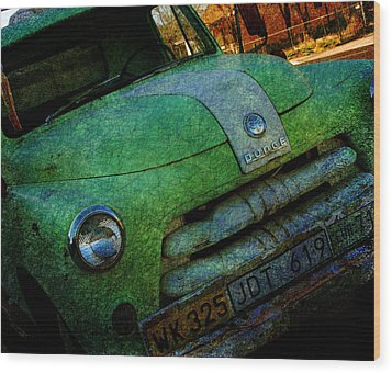 Where Are The Good Old Days Gone Wood Print by Susanne Van Hulst