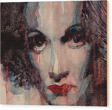 Where Do You Go My Lovely Wood Print by Paul Lovering