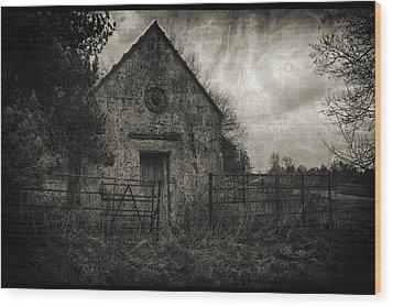 Where Fear Dwells Wood Print by Stewart Scott