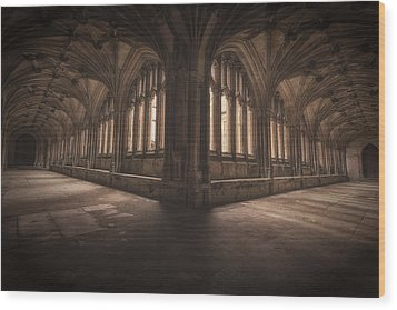 The Grace Of Light Wood Print by Stewart Scott