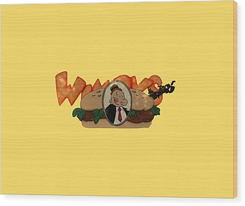 Wood Print featuring the photograph Whimpy by Tom Prendergast