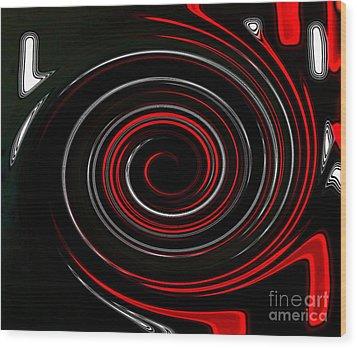 Whirlwind Wood Print by Marsha Heiken